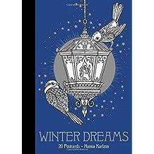 Winter Dreams 20 Postcards: Published in Sweden As Vinterdrömmar