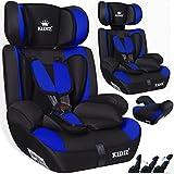 Kidiz® Autokindersitz Kinderautositz Sportsline ✓ Gruppe 1+2+3 ✓ 9-36 kg ✓ Autositz ✓ Kindersitz | Stabil und Sicher | | Farbe: Blau