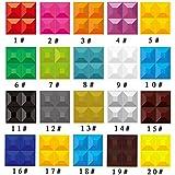 Yazi Pack de 43d Junta Panel de Revestimiento de pared para sala de estar tienda decoración 20300x 300mm color
