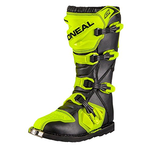 O'Neal Unisex Motocross Stiefel Rider Boot, Neon Gelb, 39, 0329-5