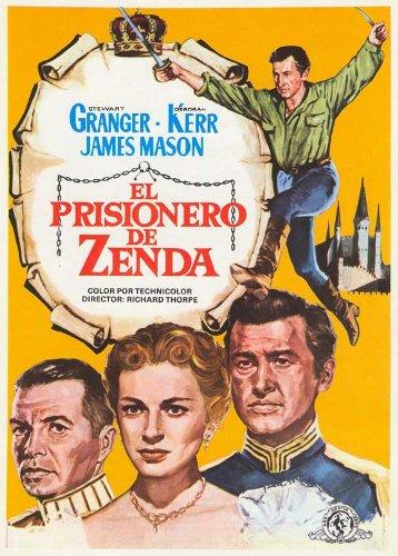 Prisoner of Zenda Plakat Movie Poster (11 x 17 Inches - 28cm x 44cm) (1952) Spanish B