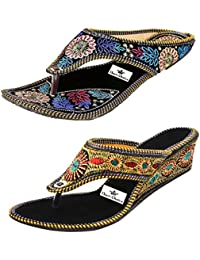 Thari Choice Women's Wedges Sandal(Pair of 2)
