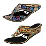 #7: Thari Choice Women's Wedges Sandal(Pair Of 2)