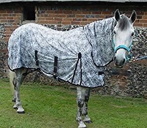 Neu Royale Kombination Pferd oder Pony Fliegendecke mit Spinnennetz Design, das Fliegen hassen