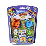 Set met 4 Super Zings-figuren en 2 aero-wagens Magic Box Toys