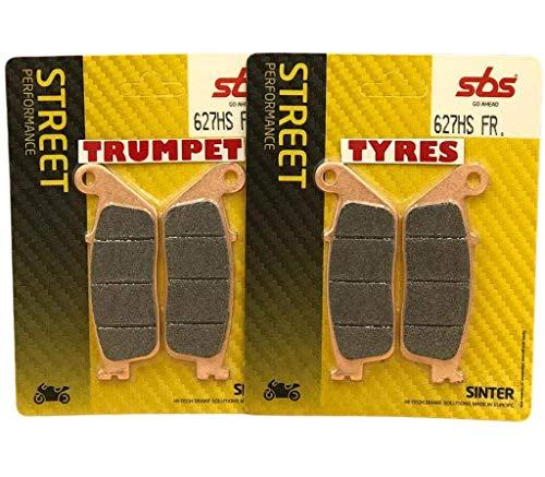 Triumph Tiger 800 XC ABS 12 13 14 SBS Performance Anteriore Veloce Strada Sinterizzate Pastiglie Freno Sinterizzate Set Qualità Originale OE 627HS