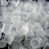 100-pcs-#20-No-Spill-Top-Hat-Tattoo-Ink-Caps-with-Base-Clear-Plastic-20mm-Cups