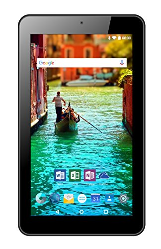 Odys Nova 7 17,8 cm (7 Zoll HQ Display) Tablet PC (Intel Atom x3, 1GB RAM, 8GB HDD, Mali-450MP4, Android 6.0) schwarz