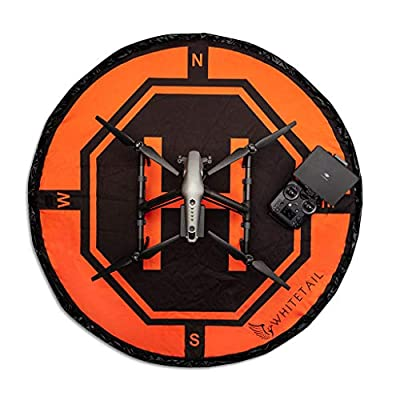 Ultimateaddons Whitetail 5ft Diameter Weighted Drone Take Off Landing Mat for Inspire 2