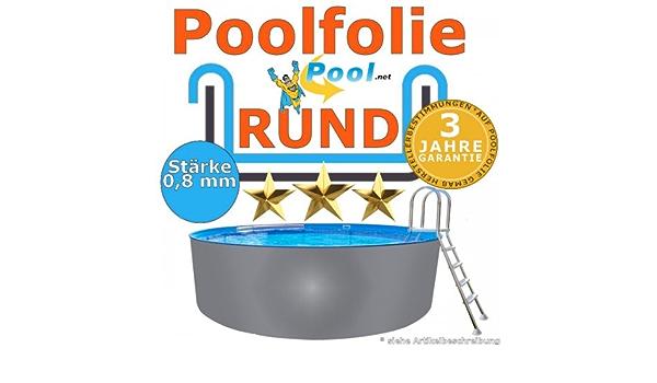 Poolfolie 5,50 x 0,8 mm 0,90 1,20 1,25 1,35 1,50 m Ersatzfolie Innenfolie rund Rundpool 5,5 Schwimmbadfolie 0,9 1,2 1,5 Innenh/ülle Pool folie 550 cm Auskleidung Folien h/ülle Poolfolien g/ünstig kaufen