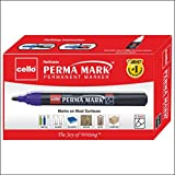 #10: Cello Perma Mark Permanent Marker - Pack of 10 (Black)
