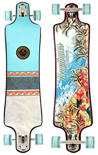 Kryptonics California Series  Skateboard, California Series, mehrfarbig (8), 40