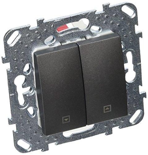 Schneider Electric unicatop Schalter Dimmer, zum Einbauen, schwarz, SC5MGU520812ZF