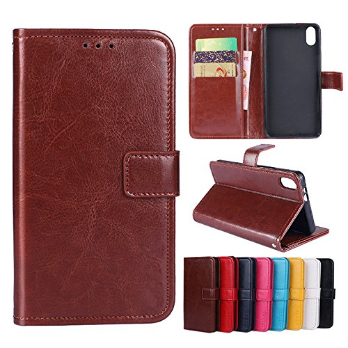 Custodia® Flip Brieftasche Hülle mit Standfunktion für Umi Umidigi One Max(Muster 8)