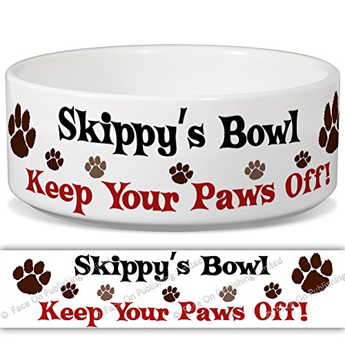 skippys-bowl-keep-your-paws-off-personalised-name-ceramic-pet-food-bowl-180mm-x-77mm-large