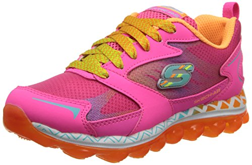 Skechers Skech Air flyaway Mädchen Low-Top Neon Pink/Multi