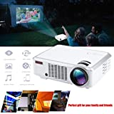 HD 1080P WiFi LED LCD Home Cinema Projector Movie HDMI USB VGA For Android