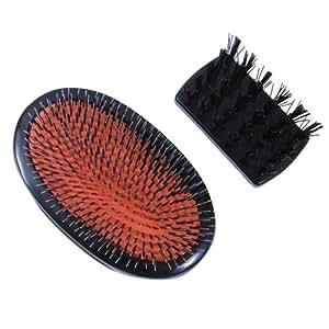 Mason Pearson - Brosse à cheveux sans manche - Poils de sanglier/nylon - Taille enfant