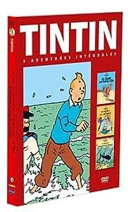 Tintin - 3 aventures - Vol. 3 : Le Secret de la Licorne + Le Trésor de Rackham le Rouge + Le Crabe aux pinces d'or