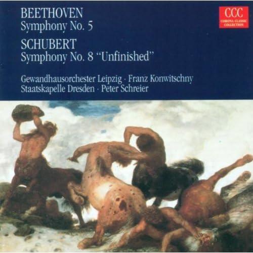 "Ludwig van Beethoven: Symphony No. 5 / Franz Schubert: Symphony No. 8, ""Unfinished"""