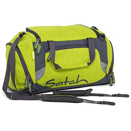 Satch Grinder borsa sportiva SAT DUF-001-216, 50 cm, 25 L, Verde Giallo