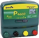 Patura Weidezaungerät P 4600 MaxiPuls - 12 Volt/230 Volt - Digitalanzeige zur Zaun-, Erdungs- und Batteriekontrolle - für hohe Hütesicherheit und bei robusten Tieren - inkl. 230 Volt Netzteil