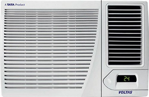 Voltas 1.5T182CYE Window AC (1.5 Ton, 2 Star Rating, White, Copper)