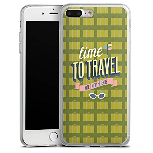 Apple iPhone X Slim Case Silikon Hülle Schutzhülle Urlaub Freunde Spruch Silikon Slim Case transparent