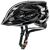 uvex Unisex- Erwachsene, i-vo Fahrradhelm, black, 56-60 cm