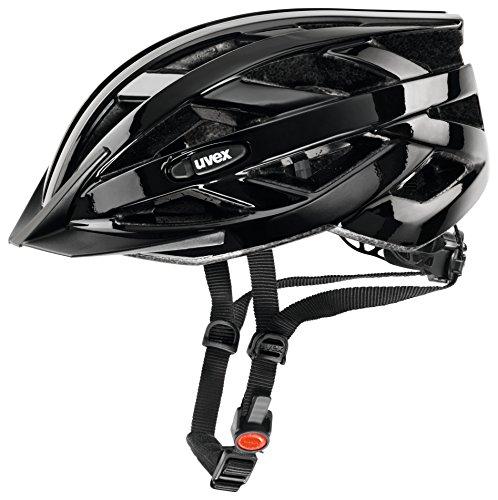 Uvex Unisex Fahrradhelm I-Vo, black, 52-57, 4104240215