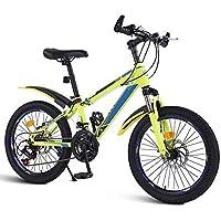 XMIMI Bicicleta de montaña Cambio de Bicicleta Estudiantes de Escuela Intermedia Niños y niñas Bicicleta Todoterreno Big Boy Racing 20 Pulgadas 21 Velocidad
