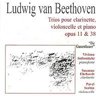 Beethoven: Trios pour clarinette, violoncelle et piano opus 11 & 38