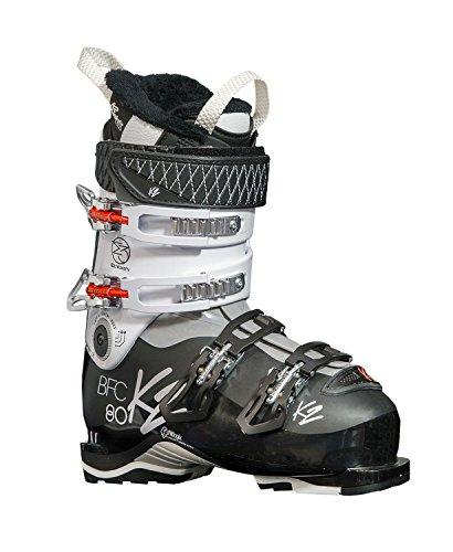 K2 Damen Skischuhe BFC Walk 80 Women HV 103 mm Schwarz/Weiss (910) 25,5