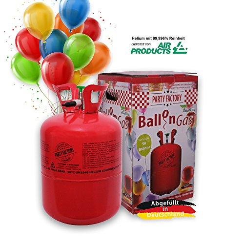 urg Ballongas Helium für 50 Luftballons ()