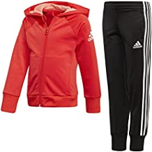 adidas Girls' Knitted Tracksuit