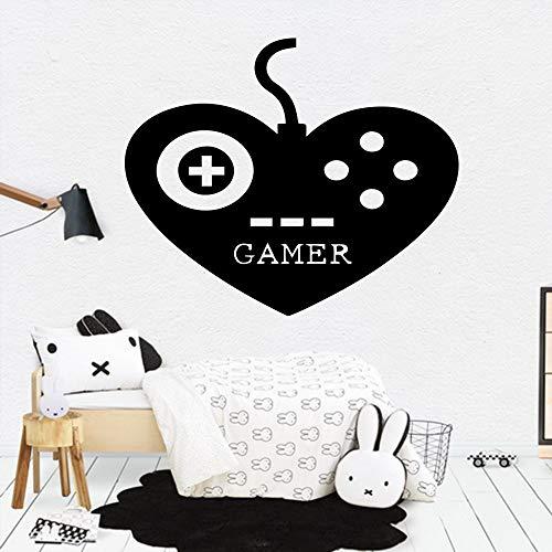 BFMBCH Kreative liebe spiel wandaufkleber vinyl möbel dekorative aufkleber haus dekoration zubehör spielzimmer wandaufkleber 30 cm x 36 cm
