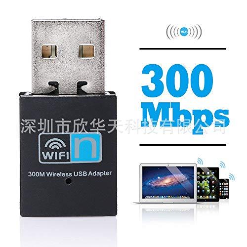 WiFi - Tarjeta de Red inalámbrica de 300 m rtl8192, Tarjeta de Red inalámbrica USB WiFi