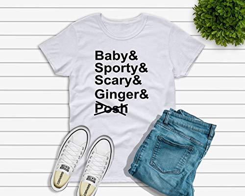 Spice Girls T-shirt No posh 2019 Tour T-shirt. Kids or Adults