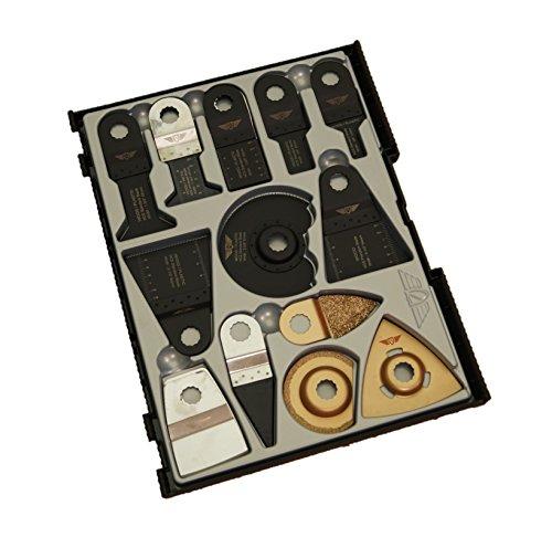 30x topstools SW _ rvk30Mix Klingen Box Set für Draper mt250a 23038, MT25031328, Wickes 235510, Farbauffrischer Multitool Multi Tool Zubehör