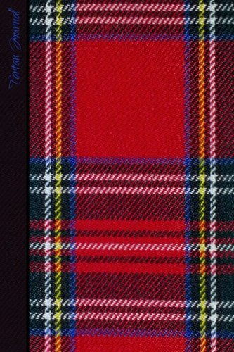 Tartan Journal: Scottish / Scotland Gifts / Gift / Presents ( Large Notebook with Red Tartan Design ) (World Cultures)