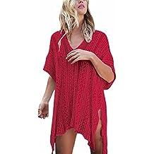 Copriscarpe Da Donna,Kword Costume Da Bagno Bikini Da Spiaggia, Abito Crochet Da Bagno