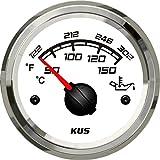 Kus aceite medidor de temperatura 50–150°C con retroiluminación 52mm Sq Series