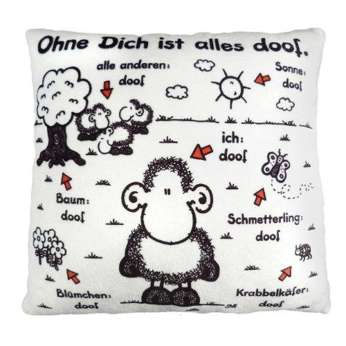 sheepworld ohne dich ist alles doof schnaeppchen center. Black Bedroom Furniture Sets. Home Design Ideas