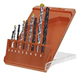 kwb Kombi Bohrersatz 9-teilig 420300 (für Metall, Stein und Holz  Ø 3 -8 mm)