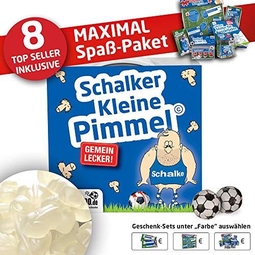 FC Schalke 04 Trainingshose ist jetzt Kleine Pimmel Set 2: MAXIMAL-Spass-Paket by Ligakakao.de blau-weiß Herren Umbro Jogging lauf-Hose Trainingsanzug