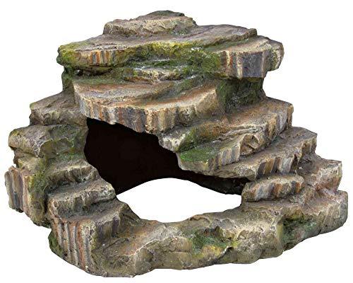 Trixie 76196 Eck-Felsen mit Höhle und Plattform, 26 × 20 × 26 cm - 3