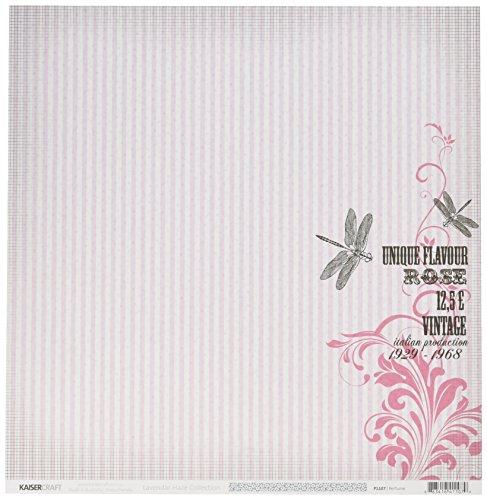 Kaisercraft Lavender Haze doppelseitiges Papier, 30,5 x 30,5 cm, Parfüm, 20 Stück