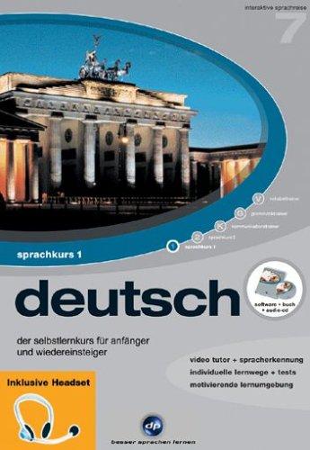 Interaktive Sprachreise V7: Deutsch Teil 1 + Headset