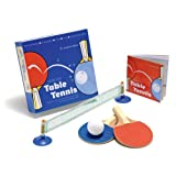 Desktop Table Tennis: Enjoy the Thrill of Table Tennis Anywhere with This Mini Portable Set