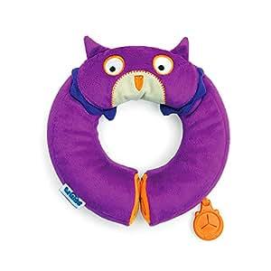 Trunki Yondi Travel Pillow - Ollie Owl SMALL (Purple)